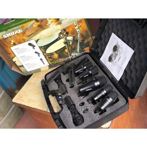 SHURE Drum Microphone -Set of 7 | Audio & Music Equipment for sale in Lagos State, Lagos Island (Eko)