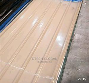 Baige Colour Longspan Aluminum Roofing Sheets | Building Materials for sale in Lagos State, Magodo