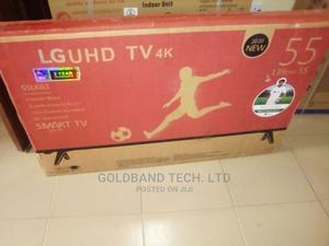 LG 55 Smart Uhd 4K Android Internet TV | TV & DVD Equipment for sale in Lagos State, Gbagada