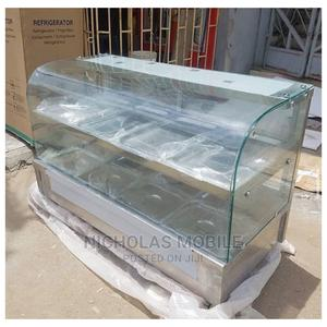 Curve Glass Imported Food Warmer 4 Plates Up Down | Restaurant & Catering Equipment for sale in Lagos State, Ojo