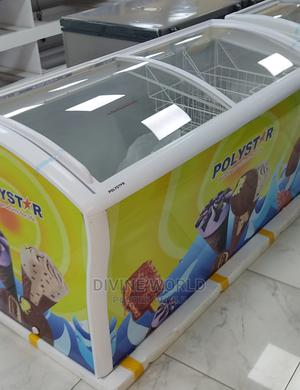 Brand New Polystar Showcase Deep Freezer 615litres | Kitchen Appliances for sale in Lagos State, Ojo