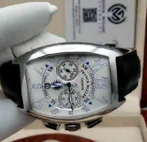 High Quality Franck Muller Black Leather Watch for Men   Watches for sale in Lagos State, Magodo