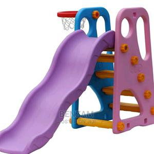 Kids Slide And Basketball Set   Toys for sale in Lagos State, Amuwo-Odofin