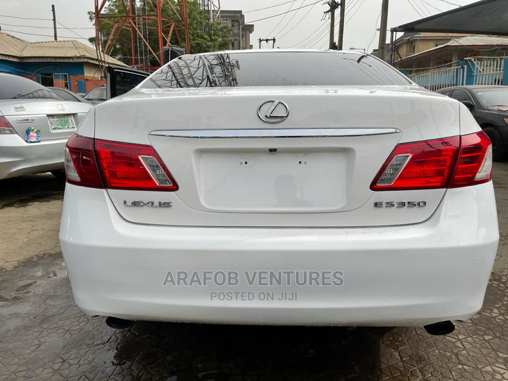 Lexus ES 2008 350 White   Cars for sale in Ikeja, Lagos State, Nigeria