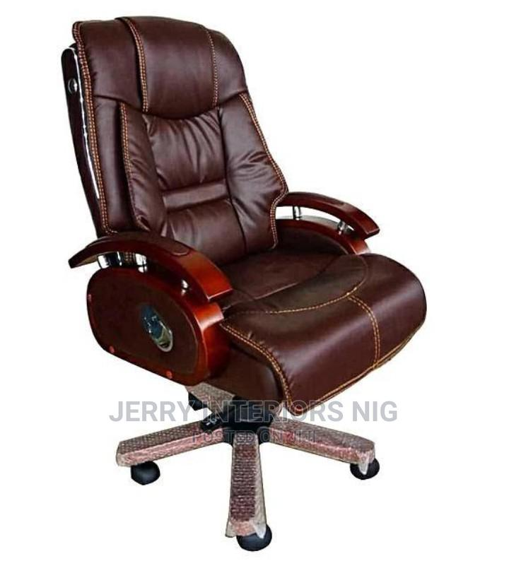 Executive Office Chair Brown.