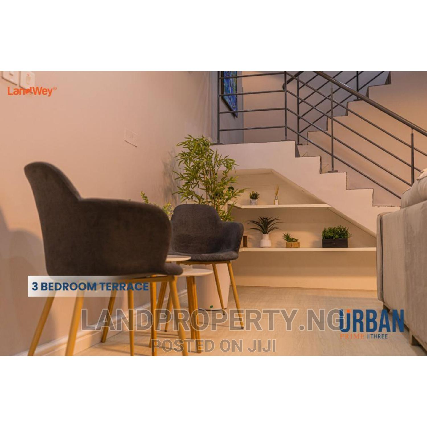 Beautiful 3 Bedroom Terrace With Studio Apartment | Houses & Apartments For Sale for sale in Ajah, Lagos State, Nigeria