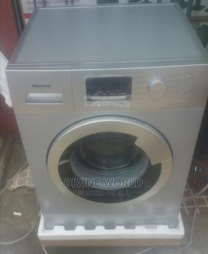 Brand New Hisense 8kg Automatic Washing Machine (WM8012S) | Home Appliances for sale in Lagos State, Ojo
