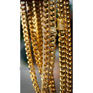 Cuban Chain (Gold, Silver, Black) | Jewelry for sale in Lagos State, Ojo