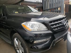 Mercedes-Benz M Class 2013 ML 350 4Matic Black | Cars for sale in Lagos State, Surulere