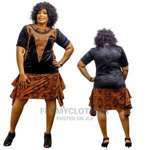 Velvet Short Gown | Clothing for sale in Lagos State, Ikeja