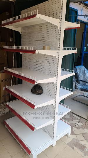 Double Sided Supermarket Shelf (6trays Each Side) | Store Equipment for sale in Abuja (FCT) State, Jabi