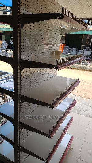 Double Sided Supermarket Shelf ( 6trays Each Side) | Store Equipment for sale in Lagos State, Ojo