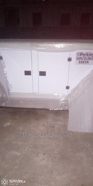 65kva Perkins Soundproof Diesel Generator | Electrical Equipment for sale in Lagos State, Ikeja