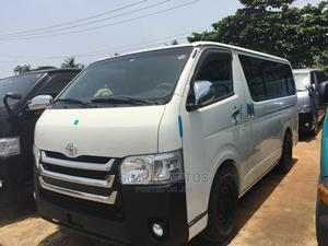 Gray Color Toyota Hiace Bus | Buses & Microbuses for sale in Lagos State, Apapa