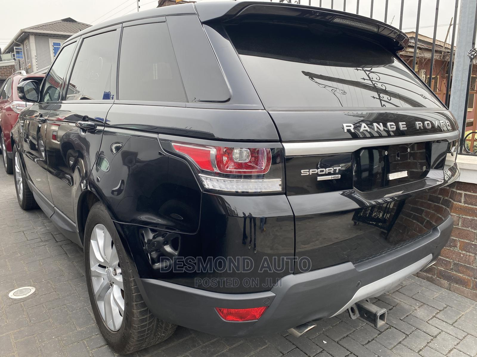 Land Rover Range Rover Sport 2017 Black   Cars for sale in Surulere, Lagos State, Nigeria