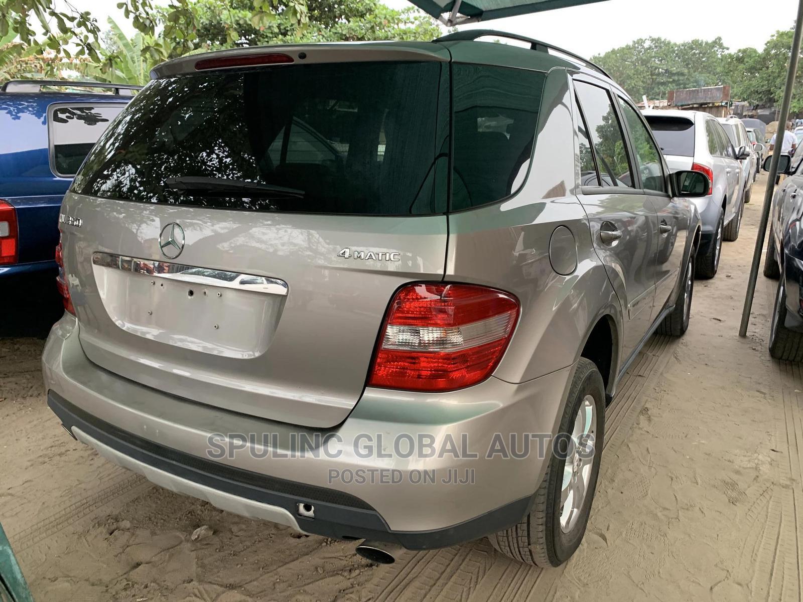 Mercedes-Benz M Class 2007 Silver | Cars for sale in Amuwo-Odofin, Lagos State, Nigeria
