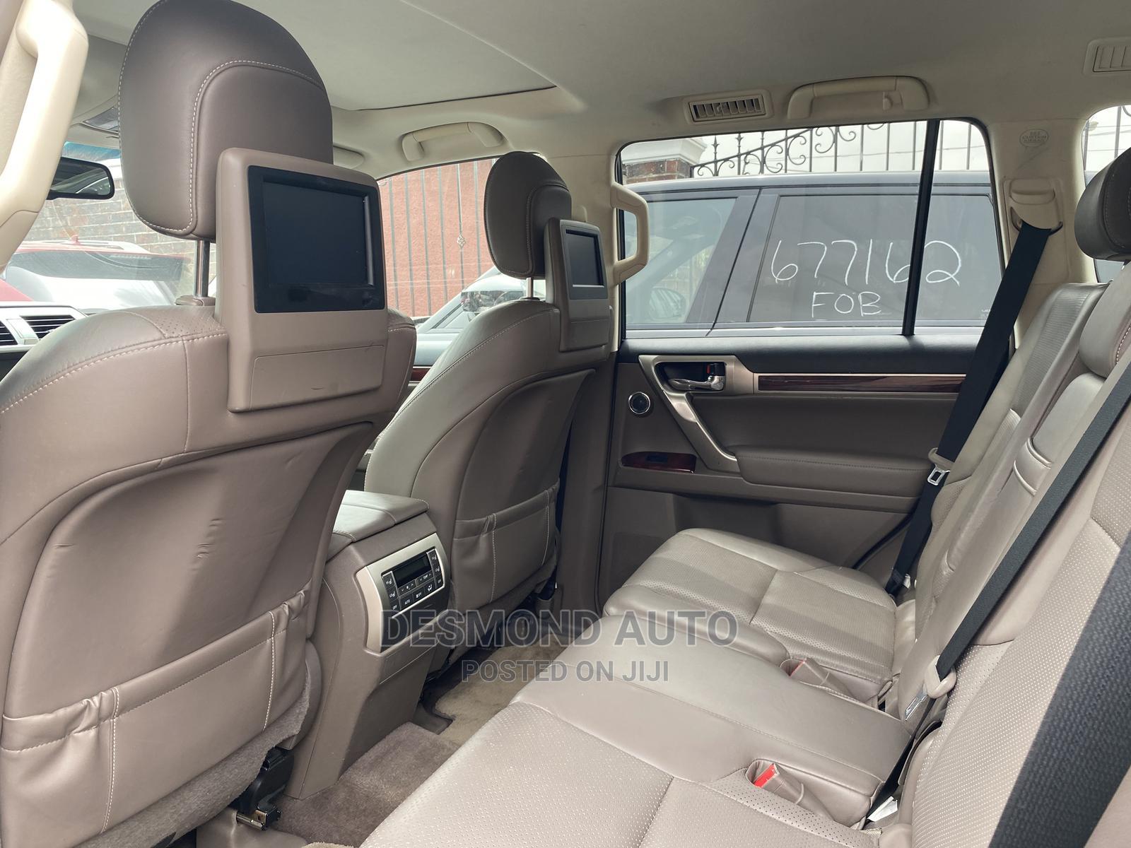Lexus GX 2012 460 Premium Gray | Cars for sale in Surulere, Lagos State, Nigeria