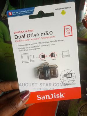 Sandisk Otg Flash Drive | Accessories for Mobile Phones & Tablets for sale in Lagos State, Ikeja