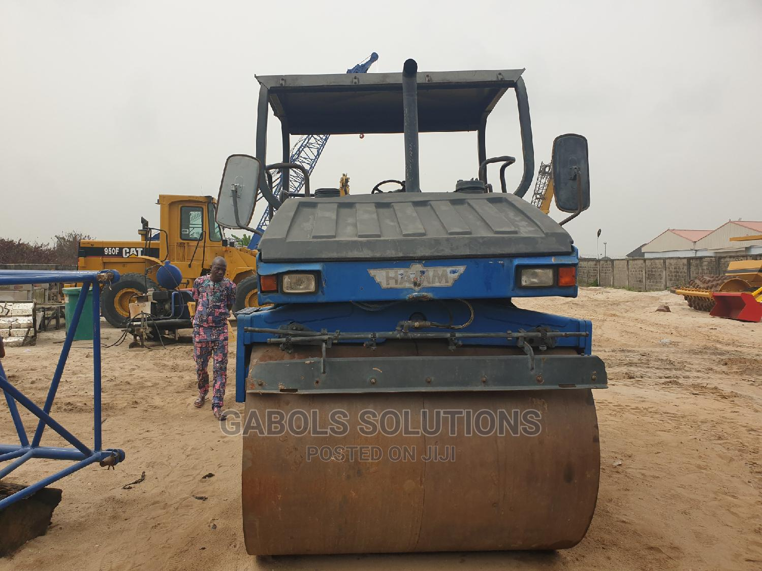 Tokunbo Hamm Vibrating Roller Compactor 1992 | Heavy Equipment for sale in Ajah, Lagos State, Nigeria