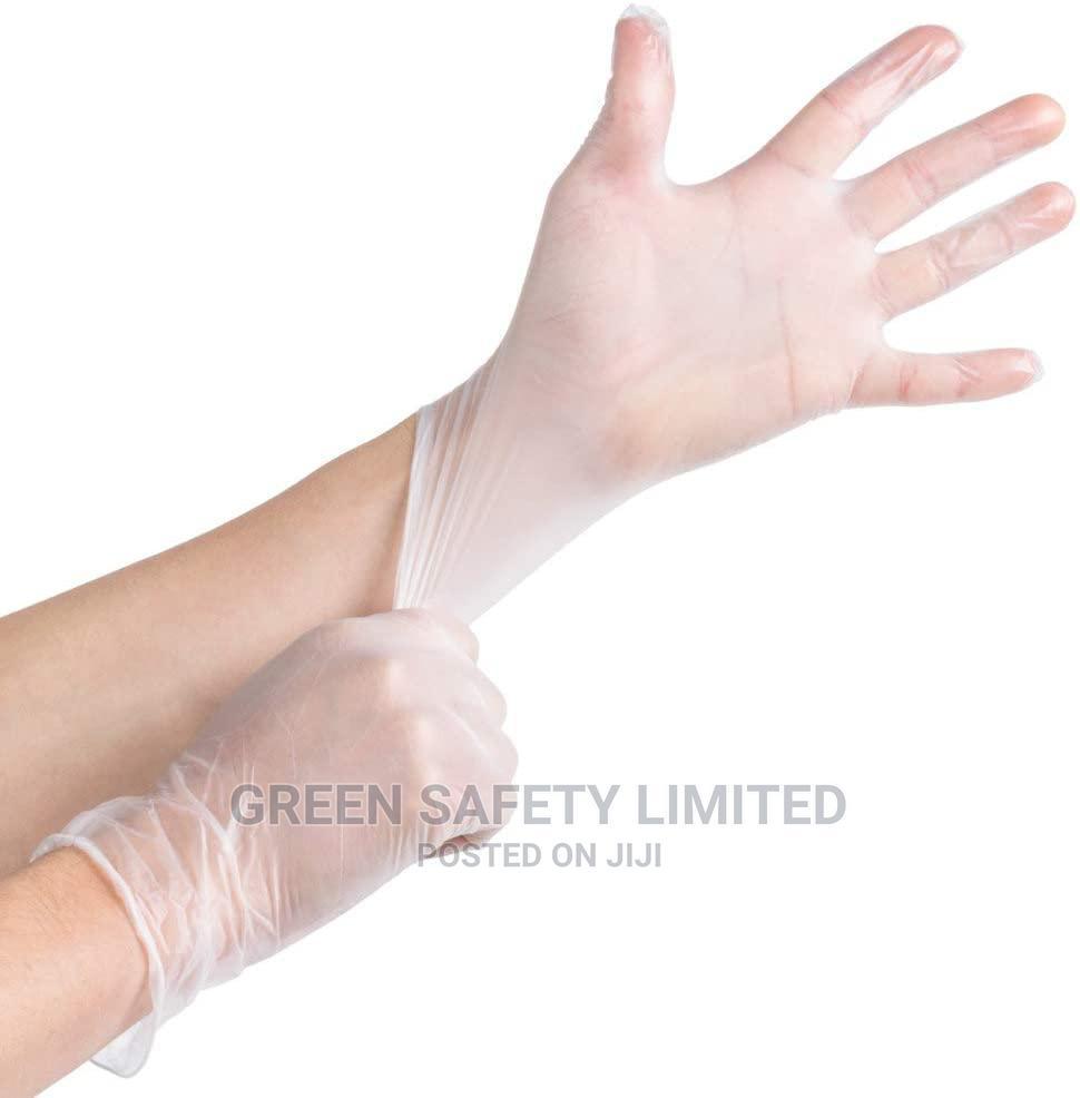 Disposable Vinyl Hand Glove-powder Free Type_carton Of 10pck