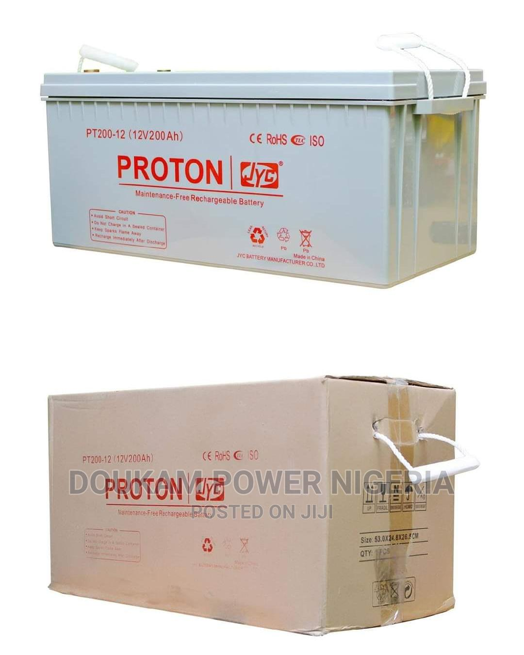 Proton Inverter Batteries 200AH