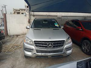 Mercedes-Benz M Class 2013 ML 350 4Matic Silver | Cars for sale in Lagos State, Ikeja