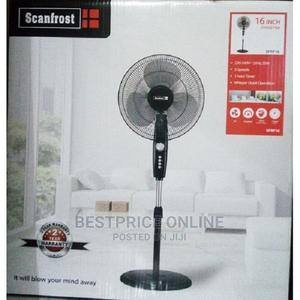Ox 18-Inches Standing Fan (Plastic Blade) | Home Appliances for sale in Lagos State, Ikeja