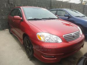 Toyota Corolla 2006 S Red   Cars for sale in Lagos State, Apapa
