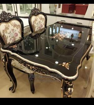Royal Antic Dining Table With 6 Chairs | Furniture for sale in Lagos State, Lekki