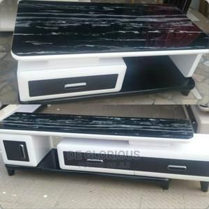 Standard Glass TV Stand and Center Table | Furniture for sale in Lagos State, Ajah