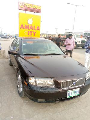 Volvo S80 2004 2.4 Automatic Brown | Cars for sale in Lagos State, Ajah