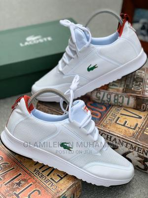 Lacoste White Sneakers | Shoes for sale in Lagos State, Lagos Island (Eko)