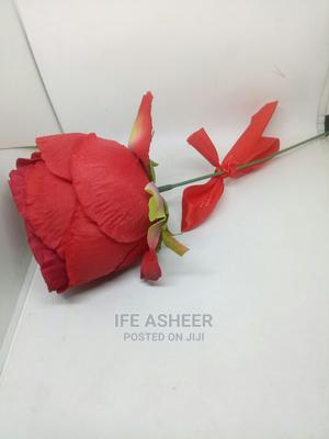 Beautiful Exotic Rose Flower for Your Loved Ones 010 - Red | Arts & Crafts for sale in Lagos State, Ojodu