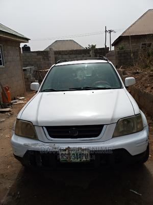 Honda CR-V 2001 2.0 4WD Automatic White | Cars for sale in Abuja (FCT) State, Wuse