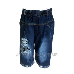 Boys Three – Quarter Length Shorts - Blue | Children's Clothing for sale in Lagos State, Ojota