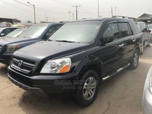 Honda Pilot 2005 LX 4x4 (3.5L 6cyl 5A) Black | Cars for sale in Lagos State, Apapa