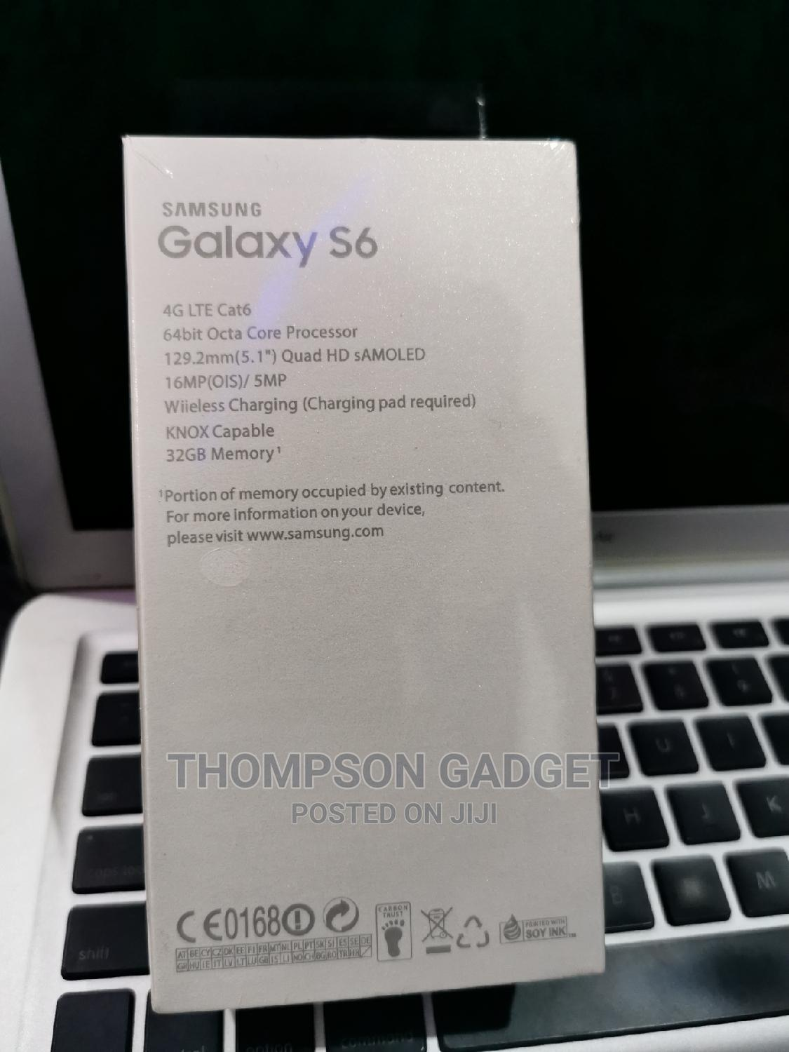 New Samsung Galaxy S6 32 GB White   Mobile Phones for sale in Wuse, Abuja (FCT) State, Nigeria