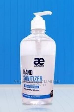 Ae Atlantic 500ml Sanitizer Carton of 12 Pcs | Skin Care for sale in Lagos State, Ikeja
