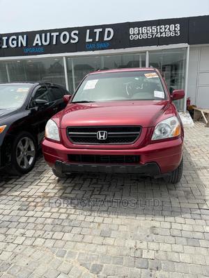 Honda Pilot 2005 Burgandy | Cars for sale in Lagos State, Lekki