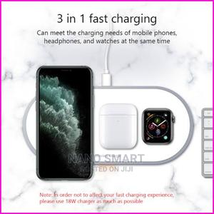 3 in 1 Wireless Fast Charger   Accessories for Mobile Phones & Tablets for sale in Abuja (FCT) State, Jabi