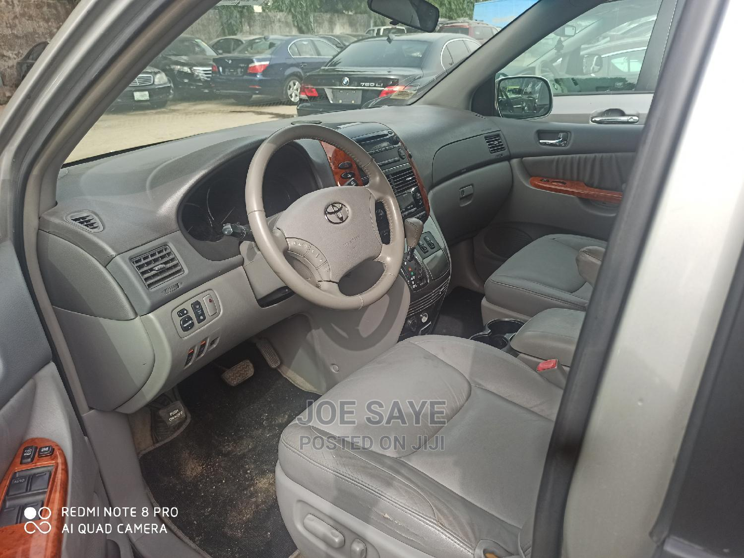 Toyota Sienna 2007 XLE 4WD Silver   Cars for sale in Ikeja, Lagos State, Nigeria