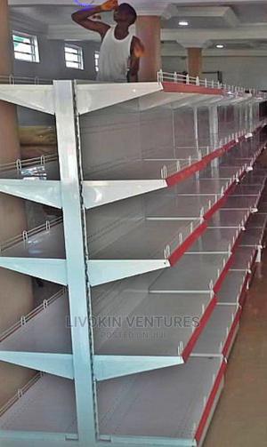 Supermarket Shelf Double | Store Equipment for sale in Borno State, Maiduguri