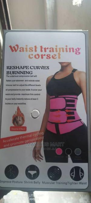 Double Belt Waist Training Corset | Clothing Accessories for sale in Lagos State, Oshodi