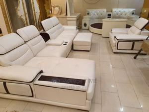 Pure Italian Leather Sofa Chairs | Furniture for sale in Lagos State, Ojo