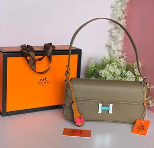 New Original Hermes Ladies Green Handbag | Bags for sale in Lagos State, Ikeja