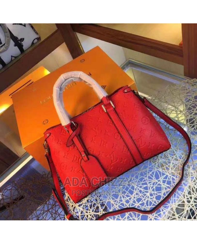 New Quality Louis Vuitton Red Female Handbag