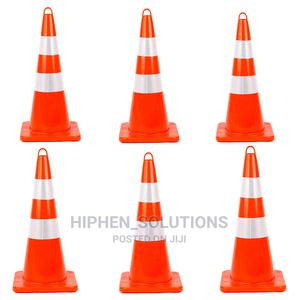 Unbreakable PVC Orange Construction Cones   Safetywear & Equipment for sale in Abuja (FCT) State, Gwarinpa