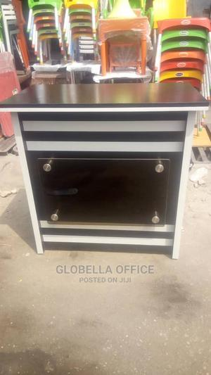 Wood Design Receptionist Table   Furniture for sale in Lagos State, Yaba