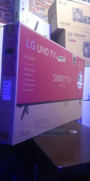 LG 65 Inches Smart TV UHD 4k | TV & DVD Equipment for sale in Lagos State, Ajah