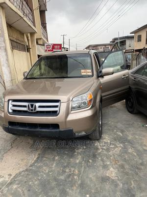 Honda Pilot 2006 EX-L 4x4 (3.5L 6cyl 5A) Brown | Cars for sale in Lagos State, Surulere